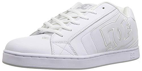 DC Shoes Men's Net SE Low Top Sneaker Shoes White Wht (WW0) 12