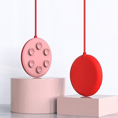 Cargador de teléfono Celular inalámbrico Boyuhii Longitud: 1M, Adecuada para iPhone 8 / X, W1 5W Ventosa portátil Succión Firma de teléfono móvil Cargador de Radio Atcye (Color : Red)