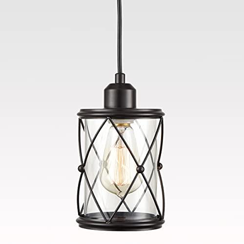 TENGIANTS Black Pendant Lighting for Kitchen Island,...