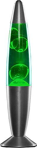 MODEZVOUS Lavalampe 35 cm, Magma-Lampe, Lavalampe, Lavalampe, 25 Watt GREEN