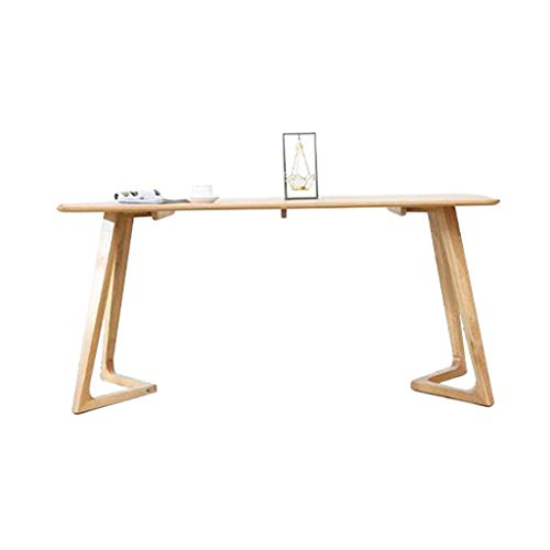 Kleine woning eiken eettafel, Cake Shop Entertain Jobs Gaming Table Enterprise Interview lezen Laptop Desk, Nieuwjaar