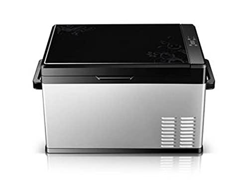 DSBN Refrigeradores de automóviles y yate, refrigeradores de Control de Temperatura Inteligentes,refrigeradores compactos con Fuente de alimentación de Voltaje automotriz 20L, 12V / 24V