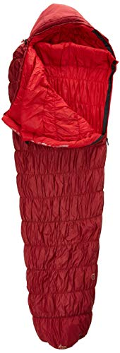 Deuter Unisex– Erwachsene Exosphere -6° Schlafsack, Cranberry-Fire, One Size
