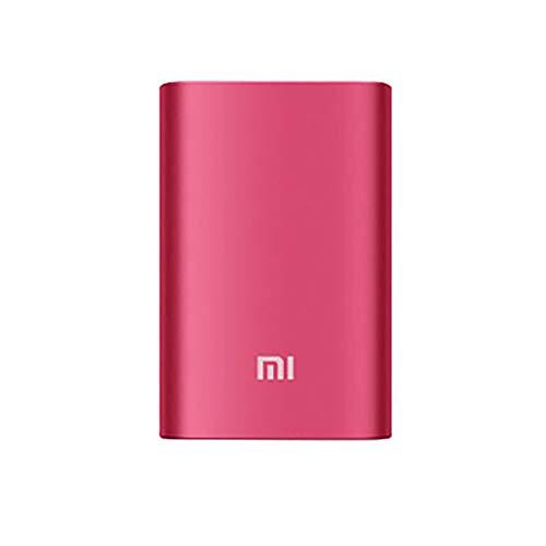 Compatible con el Cargador portátil de batería Externa Xiaomi Mi Mini Power Bank 10000Mah (91x60x22mm, Rojo)
