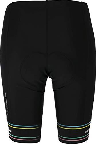 Nakamura Degna II Fahrrad-Pantalon Femme Pantalon Femme Noir FR : M (Taille Fabricant : 38)