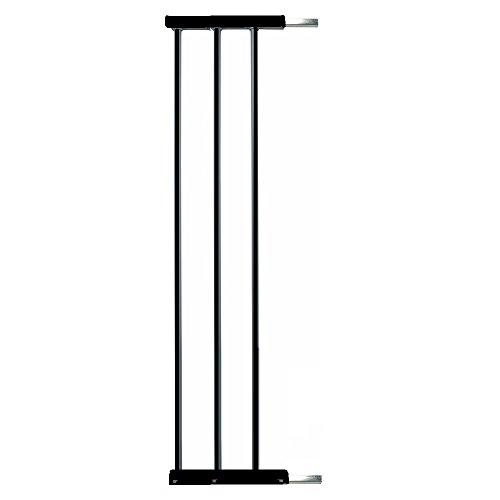 BabyDan Rallonge de barrière pour animal de compagnie Noir 20,5 cm