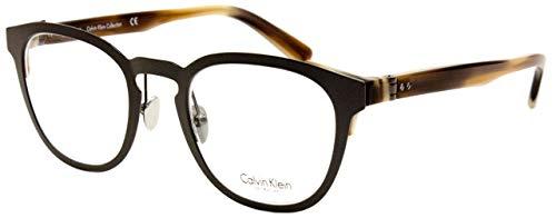 Calvin Klein CK8026 223 -48 -22 -140 Calvin Klein Brillengestelle CK8026 223 -48 -22 -140 Rund Brillengestelle 48, Braun
