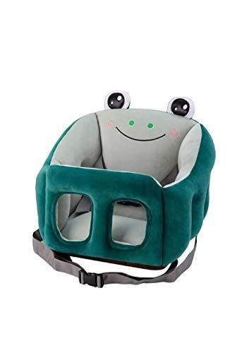 Fodera per seggiolino per bambini, senza imbottitura, seggiolino per bambini supporto per divano per bambini fodera per seggiolino rimovibile e lavabile e portatile in peluche per bambini -green
