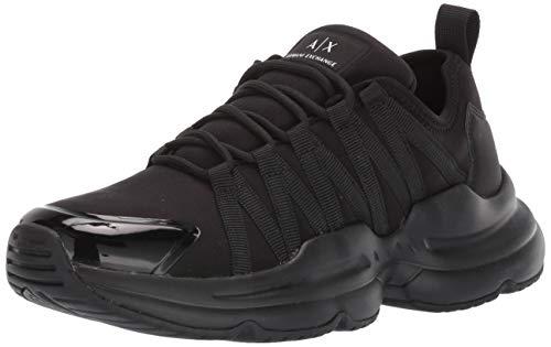 ARMANI EXCHANGE Xux048 Xv194 - Zapatillas deportivas para hombre (talla 5), color negro