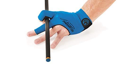 Predator Handschuh, Second Skin, 3-Finger, blau, Größe S&M