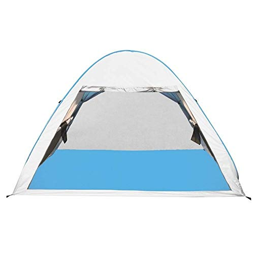 FFSM Automatic Instant Pop Up Beach Tent Lightweight Outdoor UV Protection Camping Fishing Tent Cabana Sun Shelter Water-Resistant Ventilated and Durable plm46