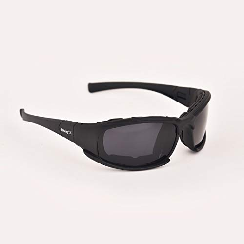 Daisy X7 - Biker Glasses, Riding Glasses, Polarised Glasses, Motorcycle Glasses, Biker Goggles by The Riding Eagle