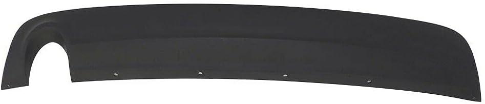 Deebior BLACK BUMPER UNDER TRAY Malibu Long Beach Mall Mail order cheap with 2008-2012 Compatible