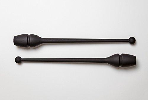 Mazas Sasaki Gimnasia ritmica caucho negras (B)