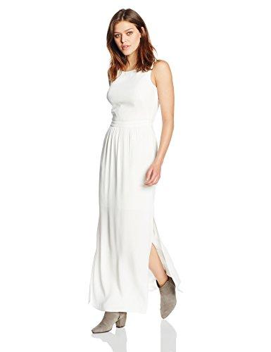 BOSS Orange Damen Kleid Abellara, Weiß (Natural 108), 40
