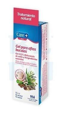 Care+ Gel Aftas Bucales Ácido Hialurónico 10ml
