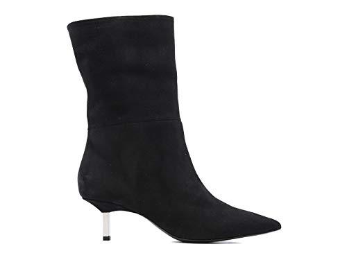 Vic Matie' 8054 Damenschmuck aus Wildleder schwarz, Schwarz - schwarz - Größe: 39 EU