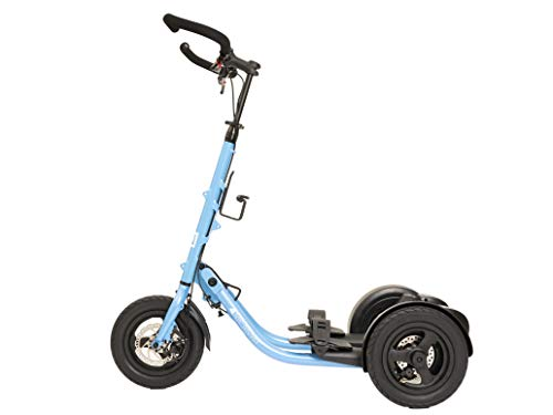 Great Features Of Me-Mover Fitness 2.3 (2020 Model) - World's Best Outdoor Fitness Machine (Blue)