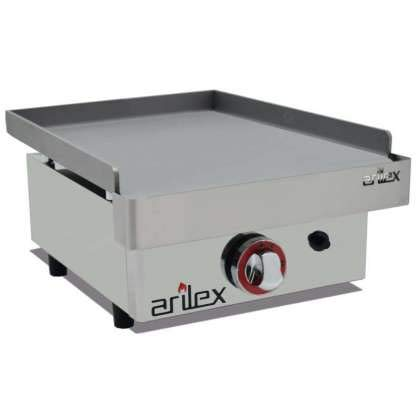 Plancha a gas ARILEX en acero laminado de 6 mm con medidas 410x457x240h mm 40PGL
