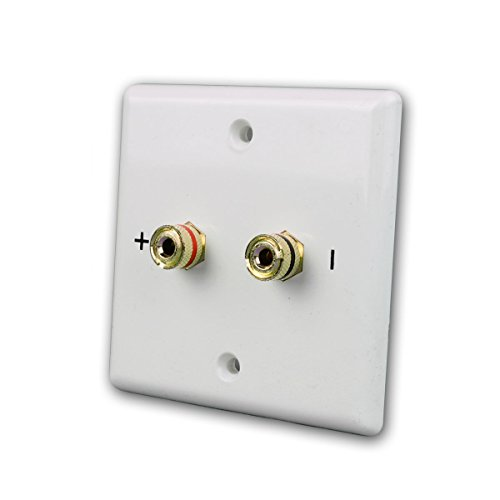 Dynavox Lautsprecher-Wandblende 1-Fach, weiß für 1 Lautsprecher