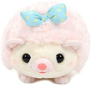 Amuse 252728B Harin Forest Party Hedgehogs Big Plush - Fam Pink, 11