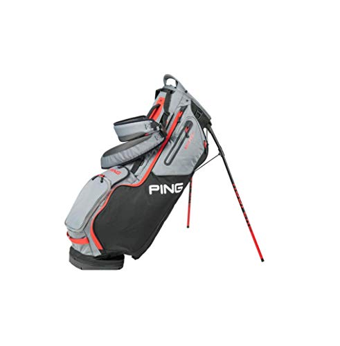 PING 2020 Hoofer 14 Way Golf Stand Bag Black Gary Scalet