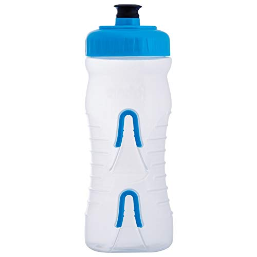 Fabric - Trinkflasche Wasserflasche 650 ml transparent blau