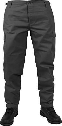 normani US Herren BDU Feldhose aus robustem Ripstop Material Farbe Anthrazit Größe 3XL