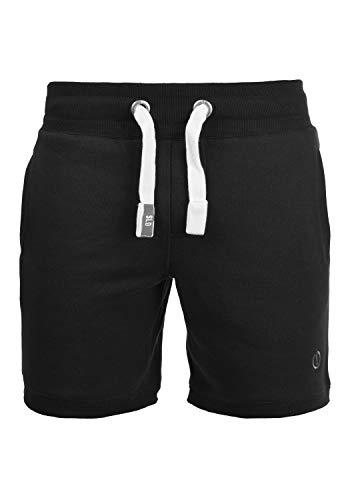 !Solid BennShorts Herren Sweat-Shorts Kurze Hose Sport-Shorts aus hochwertiger Baumwollmischung, Größe:L, Farbe:Black (9000)