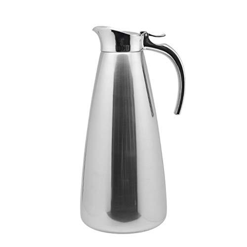 FYCZ Thermoskannen, Thermos 304 Edelstahl Thermos Home Langzeitisolierung Verbrühungsfreier Kaffee Heißer Tee-Drink 1.3L Q6