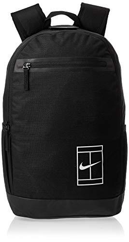 Nike Nkcrt Bkpk, Zaino Unisex-Adulto, Nero (Black/Black/White), 24x15x45 centimeters
