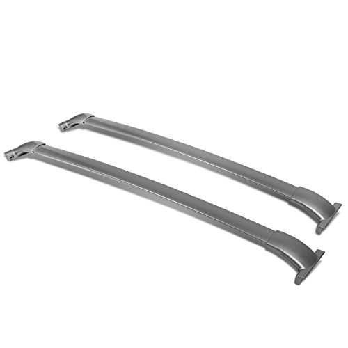 Replacement for Pathfinder R52 Pair of Aluminum OE Style Roof Rack Top Crossbars (Silver Coated)