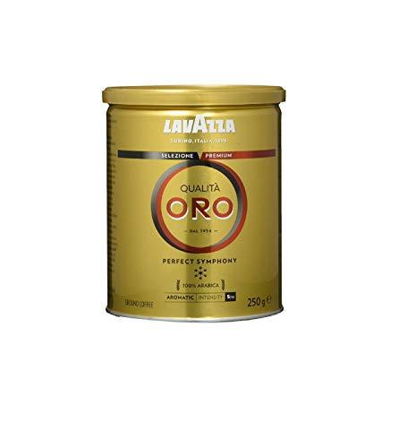 Lavazza Gemahlener Kaffee - Qualità Oro - 1er Pack (1 x 250 g Dose)