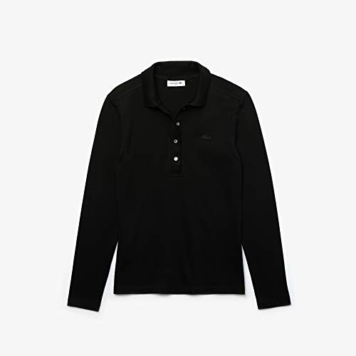Lacoste Damen Pf5464 Polohemd, Noir, 34