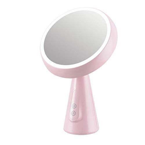 JKCKHA Espejo de la Tabla LED Espejo de Maquillaje cosmético con la luz del Escritorio del Espejo del Escritorio del Espejo del Espejo de llenado apagón Xuan - Vale la pena