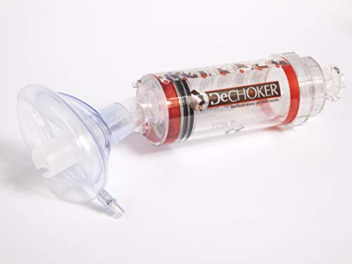 Dechoker Niños - dispositivo médico Nº 1 Mundial anti-atragantamiento (Niños) 3 años a 12 años.