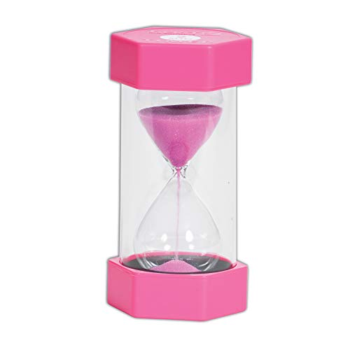 TickiT 92035Große Sanduhr, 2Minuten, 70mm Durchmesser, rosa