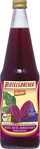 BEUTELSBACHER Jus de Betterave Rouge Bio Robuschka certifié DEMETER, 0,7l