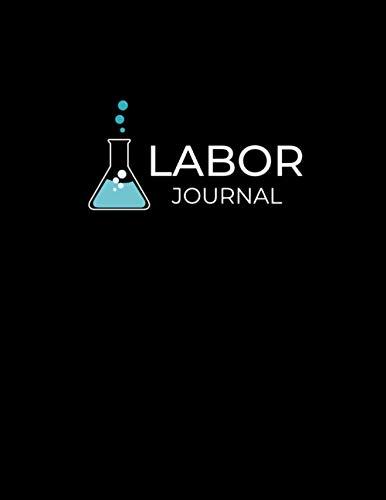 Laborjournal: Labor Notizbuch mit Inhaltsverzeichnis | Labortagebuch | Laborbuch für Chemiker, Physiker, Biologen und Laboranten | 110 nummerierte Seiten | A4 Format