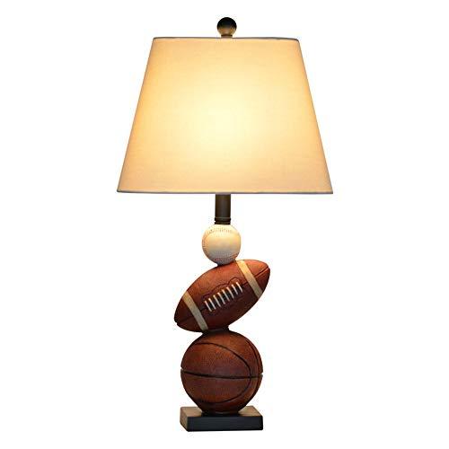 LG Snow Lámparas De LED For Habitaciones De Niños For Chicos Dormitorio Creativo Moderno Mesita De Luz De La Lámpara 33 * 67cm Deportes Baloncesto