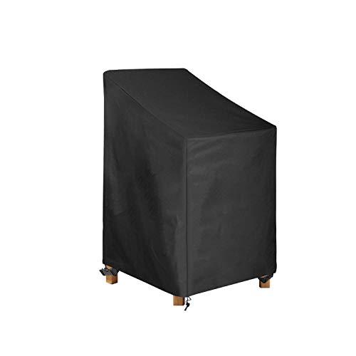 Awnic Schutzhülle Gartenstühle Stapelstühle Abdeckung Oxford Gewebe Wasserdicht Reißfest 65X75X120cm