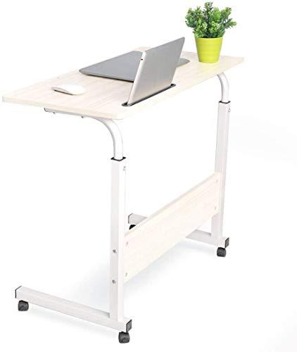 LY88 grote grootte mobiele zijtafel, verstelbare hoogte, medische nachtkastje ziekenhuis voedsel lade Rolling bureau, voor bed bank ziekenhuis lezen eten winkelwagen lade