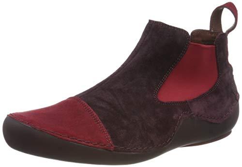 Think! Damen KAPSL_585068 Chelsea Boots, Mehrfarbig (Chianti/Kombi 35), 38 EU