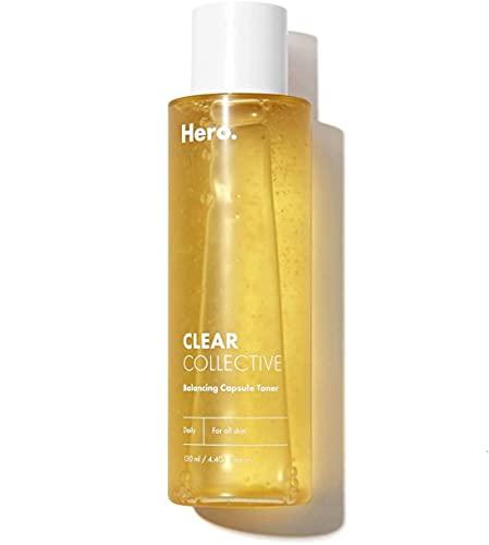 Hero Balancing Capsule Skin Toner for Face   All Skin Types   Pore Refining and Hydrating Serum Face Toner   4.39 fl oz