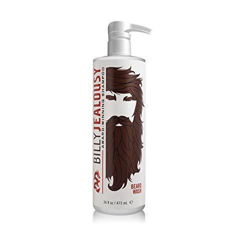 Billy Jealousy Beard Wash Hydrating Mens Beard Shampoo, 16 fl. oz.
