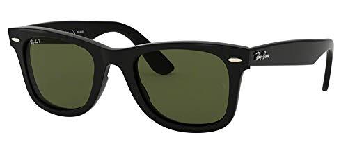 Ray-Ban RB4340 WAYFARER 601/58 50M Black/Green Polarized Sunglasses For Men For Women