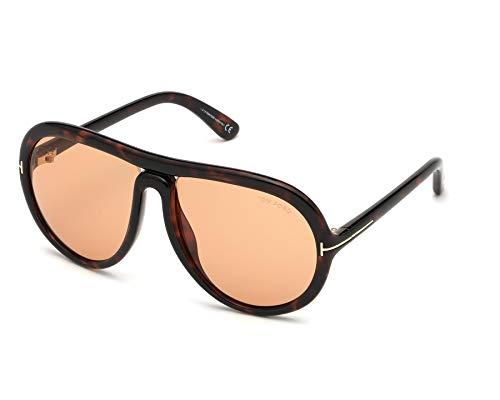Tom Ford Gafas de Sol CYBIL FT 0768 DARK HAVANA/LIGHT BROWN 60/16/135 hombre