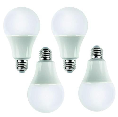 Andrestart Innovation - Lampadina Led E27, 12W (Equivalente a 100W Alogene) - Luce Bianca Calda 3000K - 1050 Lumen - Non Dimmerabile - Pacco da 4