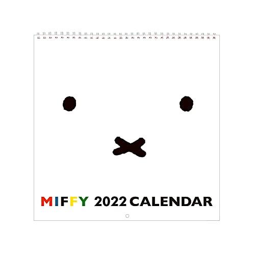 スクエア ミッフィー 2022年 カレンダー 壁掛け 白 BCA-1