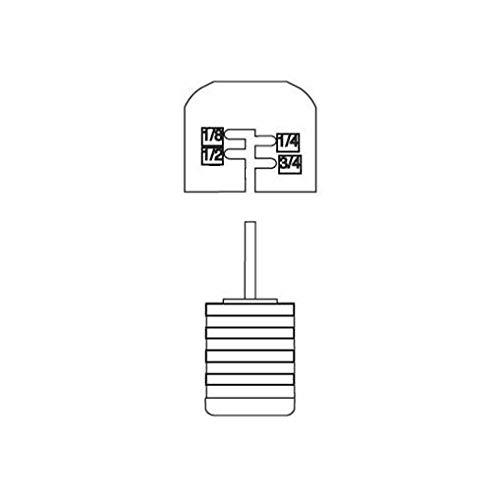 HUNTER Sprinklers 440200 Mini-Clik Rain Sensor Cap and Spindle Assembly